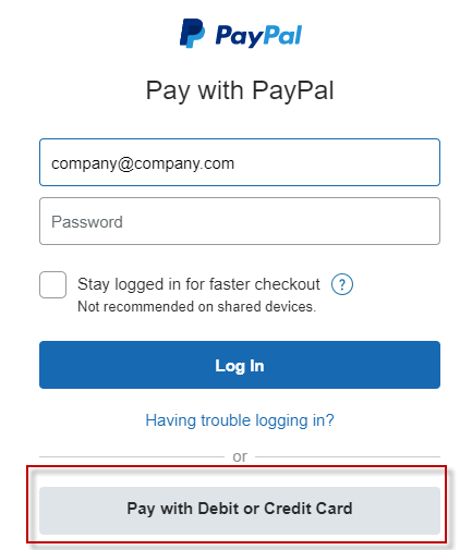 Avoid Creating a PayPal Account