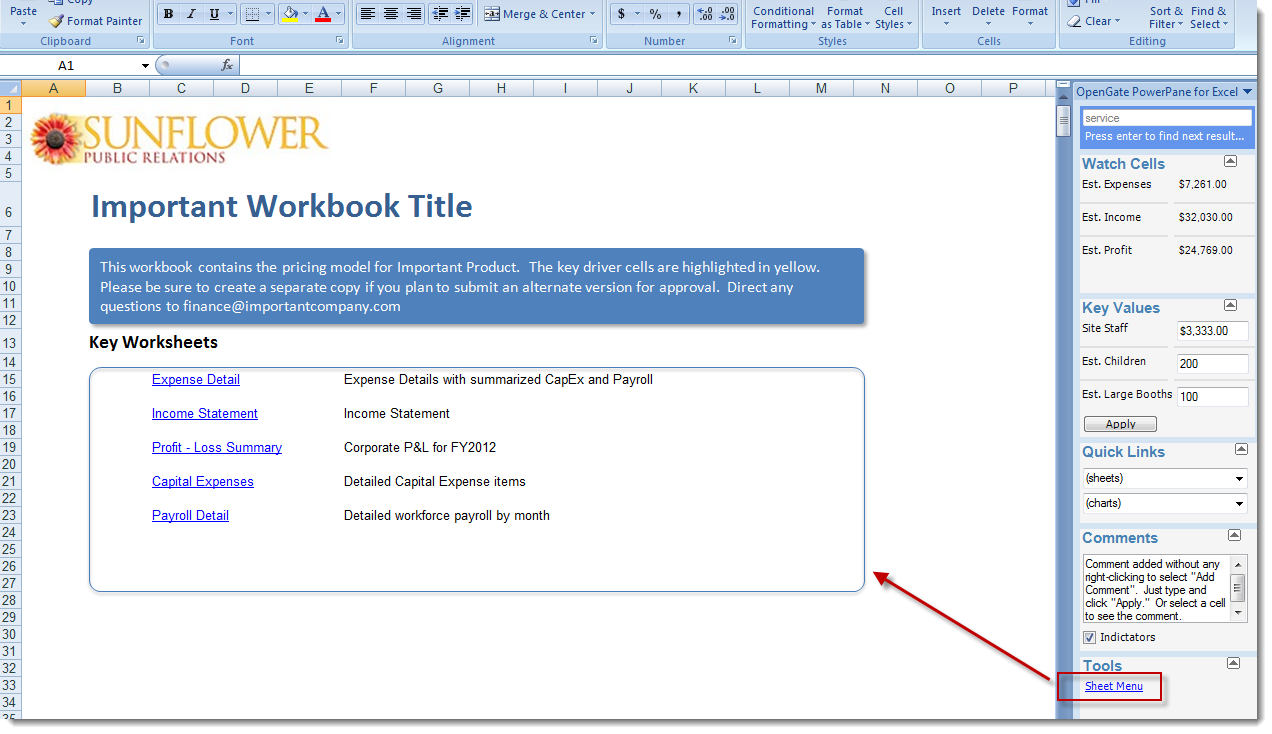 Workbooks create excel workbook : Excel 2007 and 2010 Add-In that helps you work faster and create ...