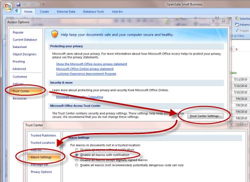 Microsoft Access Download FAQ | OpenGate Software Inc