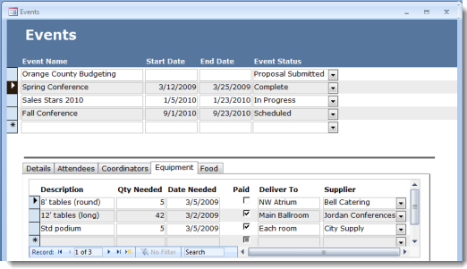 Design MS Access databases including tables, forms, and relationships quickly, without becoming a database architect