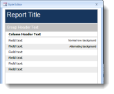 MS Access report generation in minutes.