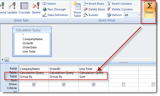 Access Aggregate Queries and Other MS Access Query Tips | OpenGate