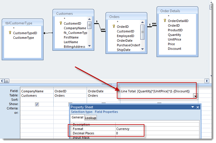 Access Aggregate Queries and Other MS Access Query Tips