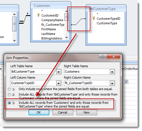Working With The Microsoft Access Query Designer Opengate Software