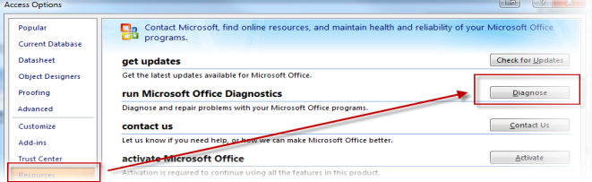 Office 2007 Diagnostics